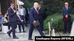 Главният прокурор Иван Гешев по време на събитието