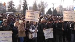 У Запоріжжі фермери протестували проти змін оподаткування для сільгоспвиробників (відео)