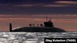 Knyaz Oleg este un submarin al Rusiei dotat cu rachete balistice. A fost testat pentru prima oară în Marea Albă în luna mai.