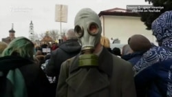 Thousands Protest Against Toxic Landfill Near Moscow