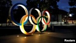 Токиода Олимпиада символы