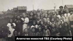 Воспитанники Васюганского детского дома. Середина 1930-х гг.