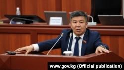 Депутат Жогорку Кенеша Алмамбет Шыкмаматов.