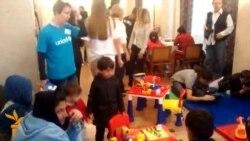 Beograd: Otvoren kutak za decu izbeglice