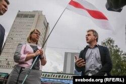 Вольга Кавалькова і Анатоль Лябедзька