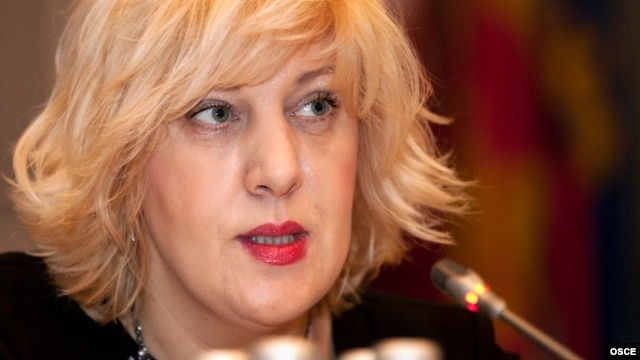 The OSCE's representative on freedom of the media, Dunja Mijatovic