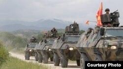 Илустрација - Вежба на македонската армија