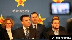 Зоран Заев, претседател на СДСМ
