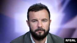 Belarusian-American political analyst Vitali Shkliarov (file photo)