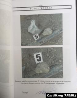 Gaz quvuridagi sizishdan portlagan uyga oid hujjatdan nusxa, Yangiyo'l tumani, Istiqlol ko'chasi, 80-uy, 30 - noyabr, 2020.