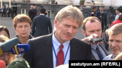 Zëdhënësi i Kremlinit, Dmitri Peskov