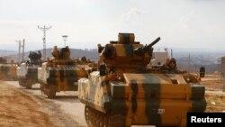 Turski vojni konvoj ušao u Idlib, 13. oktobar 2017.
