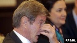 Fremch Foreign Minister Bernard Kouchner