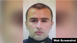 A picture of the suspected bank robber, whom Georgia's deputy interior minister has identified as Badri Esebua.