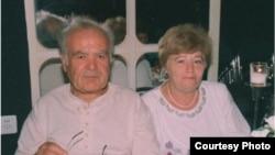 Israel - Zhanna Amniel (Tarumian), Holocaust survivor, with her Armenian husband Bebel Tarumian, Undated