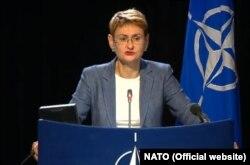 Oana Lungescu, purtătoarea de cuvânt NATO