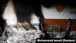 حمله بر یک درمسال در شهر کابل