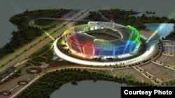 Azerbaijan -- TOCA Baku Olympic Stadium