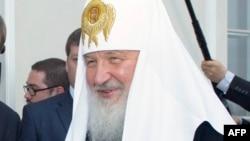 Глава Русской православной церкви патриарх Кирилл. Иллюстративное фото.