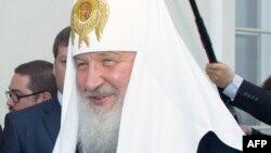Патриарх Русской православной церкви Кирилл.