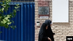 Посольство Великої Британії напередодні відкриття, фото 21 серпня 2015 року