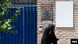 Затворената британска амбасада во Техеран