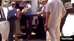 Затрыманьне пэнсіянэраў за незаконны гандаль у Пінску