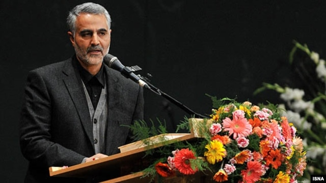 Iranian Major General Qasem Soleimani, commander of the IRGC's Qods Force, in Tehran in an undated photo
