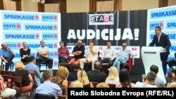 """Press konferencija učesnika kultne predstave """"Audicija"""""""