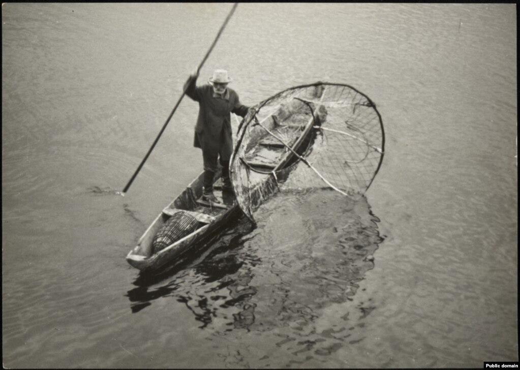 Рыбак на Піне