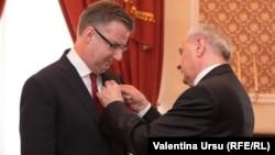 Dirk Schuebel, reprezentantul UE la Chișinău în timpul președinției lui Nicolae Timofti