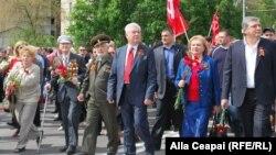 La Chișinău de Ziua Victoriei