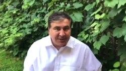 """Saakashvili: """"Qaçqın statusu almaq fikrim yoxdur"""""""