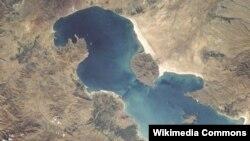 دریاچه ارومیه، عکس از ناسا
