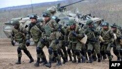 Ռուսական զինված ուժերի վարժանքներ, արխիվ