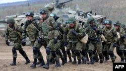 Vojna vežba ruskih trupa