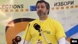 Претседателски избори 2014. Прес-конференции на Граѓанската асоцијација МОСТ. Дарко Алексов.