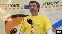 Архивска фотографија: Првиот човек на МОСТ, Дарко Алексов