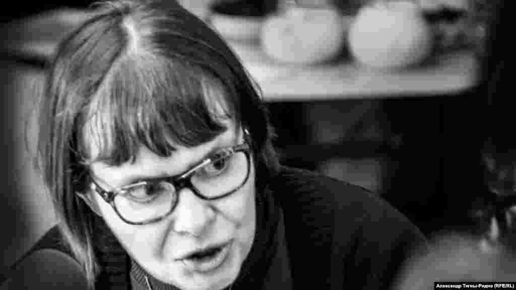 Татьяна Щербина. Фото А.Тягны-Рядно