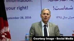 فرانس مایکل میلبن سفیر اتحادیه اروپا در افغانستان