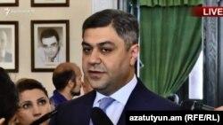 Директор Службы национальной безопасности Армении Артур Ванецян.