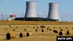 Astravets is Belarus's only nuclear plant.