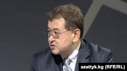 Қырғызстанның бұрынғы экономикалық даму министрі Эмил Уметалиев.