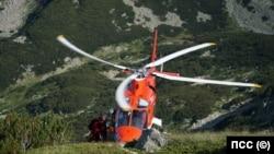 Последният хеликоптер за спасителни операции бе собственост на частна фирма, която заради липса на държавна подкрепа, реши да го продаде