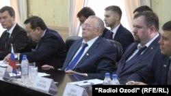 Владимир Жириновский в Душанбе
