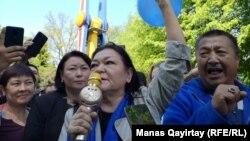 Нур-Солтанда протест чарасы