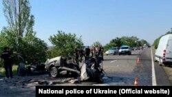Наслідки ДТП в Одеській області 18 липня 2020 року, фото Національної поліції України