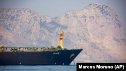 The Iranian oil tanker Grace1 has been given the clearance to depart by authorities in Gibraltar.