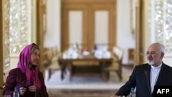 Mohammad Javad Zarif dhe Federica Mogherini