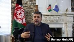 رحمتالله نبیل رئیس پیشین امنیت ملی و نامزد انتخابات ریاست جمهوری